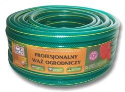 zielony elastyczny wąż do podlewania