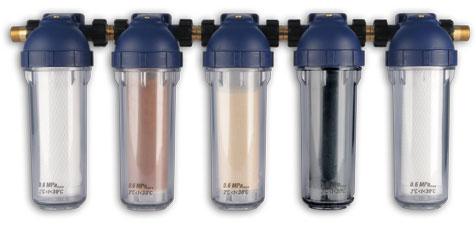 pojemniki na wkłady do filtrowania wody