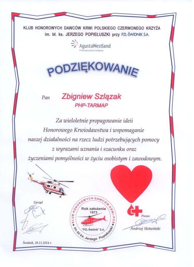 TARMAP wspiera PCK Świdnik